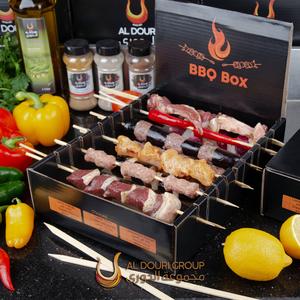 Aldouri Barbeque Box Skewered Mix Meat  1kg
