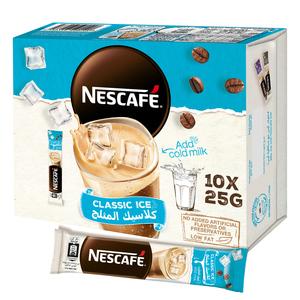 Nescafe Classic Ice Coffee Mix Sachet 10x25g