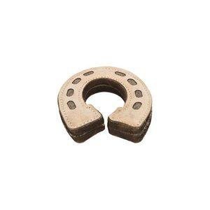 Trixie Horseshoe Leather/Wool Toy 15cm 1pc