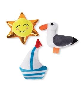 PetShop by Fringe Studio Beachin it Dog Toy Set Small 3pcs
