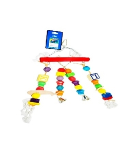 Pado Bird Toy with Letterbeads 1pc