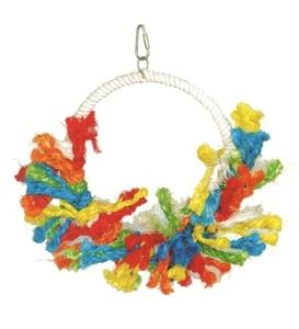 Pado Bird Toy Ring with Rope 1pc