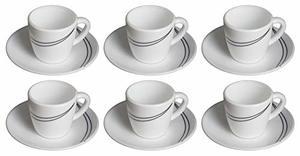 Ruby Cup & Saucer Set 10302 12pcs - 100ml