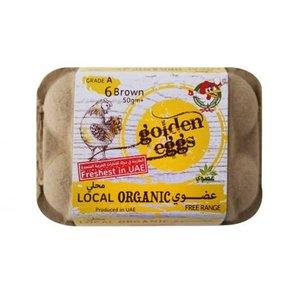 Golden Eggs Organic Free Range Eggs 6s