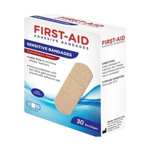 First Aid Hypoa Bandages 30s