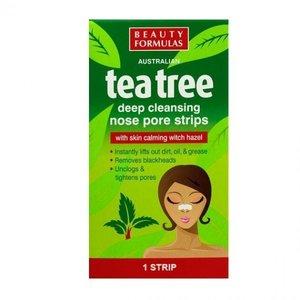 Beauty Formulas Tea Tree Nose Strips 1pc