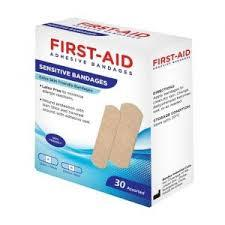 First Aid Extra Bandages 100s