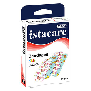 Max Istacare Bandages Kids 1pc