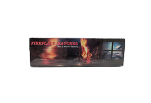 Solo Fireplace Matches 1pc