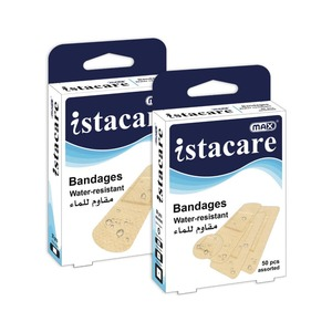 Max Istacare Bandages Water Resistant 50s