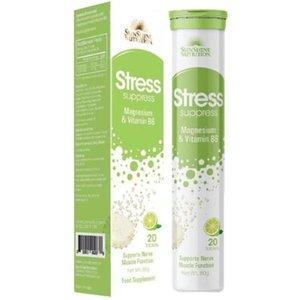 Sunshine N Stress Supplement Ef Lemon Tabs 1pc