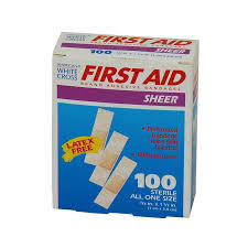 First Aid Strip Bandages 100s
