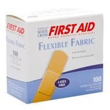 First Aid Strip Bandages 20s