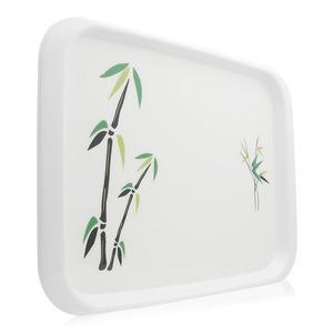 Hoover Green Bamboo Rectangular Plate 1pc