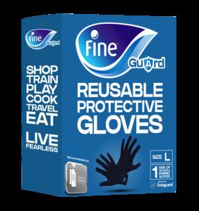 Fine Gloves Fine Guard Large 1pc