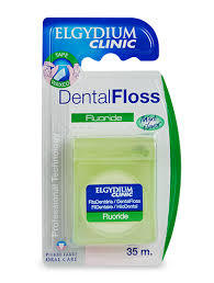 Elgydium Dental Floss Flouride Mint 35ml
