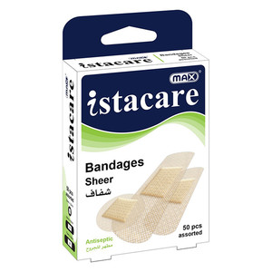 Max Istacare Max Istacare Bandages Sheer 1pc