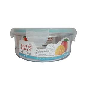 Chef's Ware Prem Tritan Container Round 740Ml 1pc