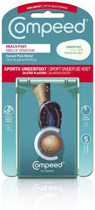 Compeed Sports Underfoot B Plasters 5s
