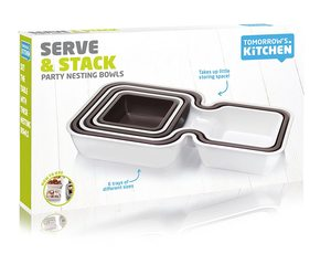 Tomorrow's Kitchen Serve & Stack Set Of 6 1pc