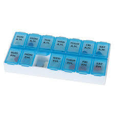 Apothecary Weekly Pill Planner 1pc