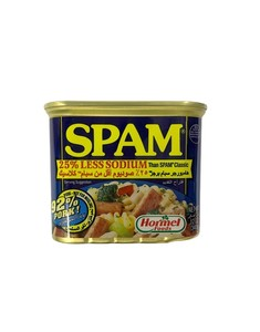 Spam Classic Low Sodium Canned Meat 12oz