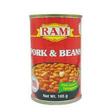 Ram Pork & Beans 165g
