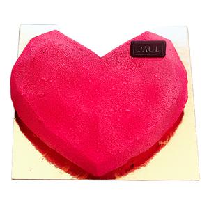 Strawberry Diamond Cake 1 pc
