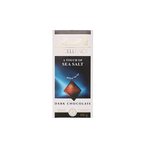 Lindt Excellence Sea Salt Touch Chocolate 100g
