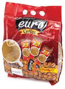 Euro 2 In1 Original Coffee 24x10g