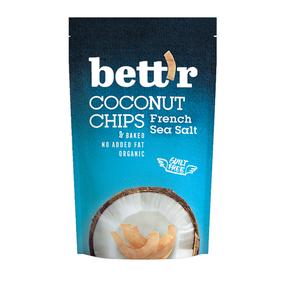 Bettr Coconut Chips French Sea Salt 70g