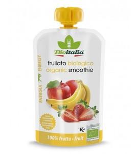 Bioitalia Apple Banana & Strawberry Smoothie 120g