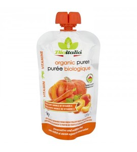 Bioitalia Organic Smoothie Carrot Apri & Pump 300g
