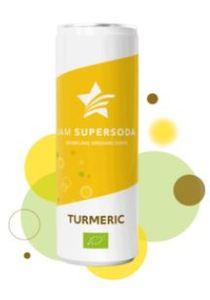 Iam Supersoda Sparkling Organic Turmeric 250ml