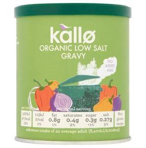 Kallo Low Salt Gravy Granules 160g