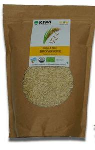 Kiwi Organic Basmati Brown Rice 1kg