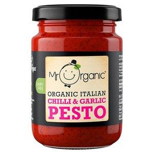 Mr Organic Chilli Garlic Pesto 130g
