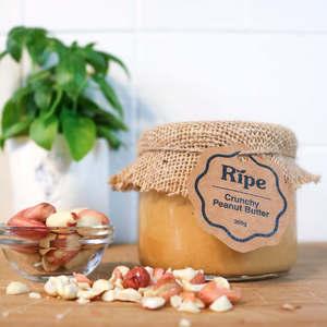 Ripe Spread Crunchy Peanut Butter 300g
