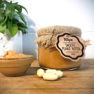 Ripe Spread Smooth Peanut Butter 300g