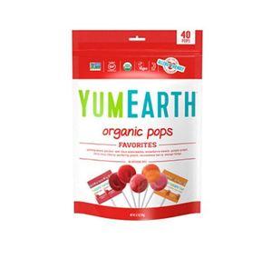 Yum Earth Organic Pops 248g