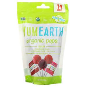 Yum Earth Organic Sour Pops 14pcs-85g