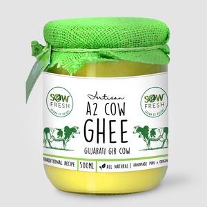 Sow Fresh A2 Cow Ghee 500ml