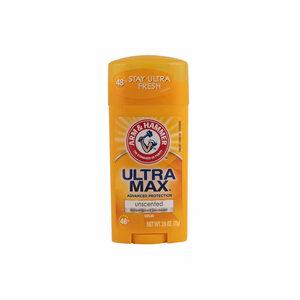Arm & Hammer UltraMax Deodorant Stick Unscented 73g