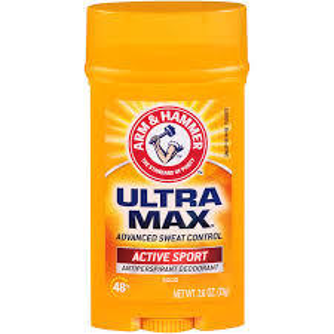 Arm & Hammer UltraMax Deodorant Stick Active Spray 73g