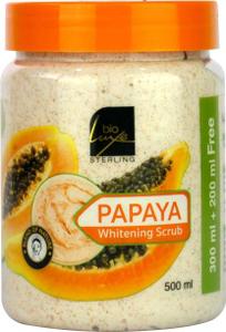 Bioluxe Papaya Whitening Scrub 500ml
