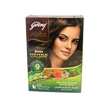 Godrej Abha Hena Hair Color Brown 60g