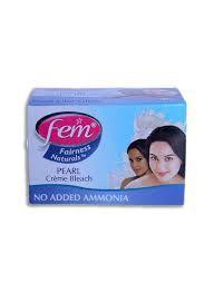 Fem Fairness Bleach Milk Blue Bar 50g