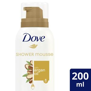 Dove Shower Mousse With Argan Oil For Women 200ml