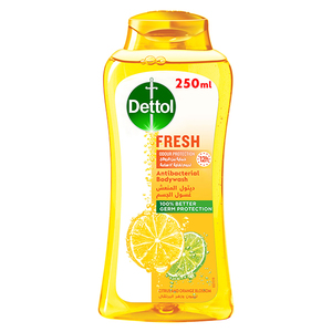 Dettol Fresh Showergel & Bodywash Citrus & Orange Blossom Fragrance 250ml