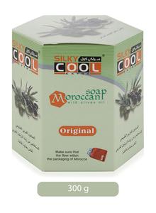 Silky Cool Moroccan Bath Soap With Lofa 300g